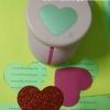 ที่เจาะกระดาษ รูปหัวใจ ขนาด7.5cm