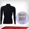 เสื้อรัดกล้ามเนื้อ รุ่น Quick Dry มีรูระบายอากาศ สีดำ