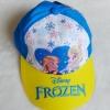 หมวก ลายปัก เจ้าหญิง Frozen สีฟ้า-เหลือง