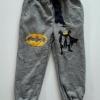 GAP : กางเกงขาจั๊ม สีเทา สกรีนลาย BATMAN Size : 2 / 12 / 14