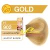 ครีมเปลี่ยนสีผม ดีแคช มาสเตอร์ แมส คัลเลอร์ครีม Dcash Master Mass Color Cream H 902 บลอนด์สว่างมากที่สุด (Lightest Blonde) 50 ml.