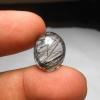 แก้วขนเหล็กเส้นสวย คม น้ำใสA+++ ขนาด 1.7x1.3 cm ทำ จี้ หรือ แหวน สวยๆ