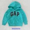 Gap : เสื้อกันหนาว Gap ซิปหน้า สีเขียวมินท์ size 18-24m