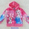 Disney : แจ็คเก็ทกันหนาว มีฮูด สีชมพู พิมพ์ลาย เจ้าหญิง Elsa Size : 10 (8-10y)