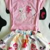 T.T Kids wear fashionstyle ลาย โพนี size 90(2y)