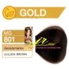 ครีมเปลี่ยนสีผม ดีแคช มาสเตอร์ แมส คัลเลอร์ครีม Dcash Master Mass Color Cream MG 801 น้ำตาลประกายทอง (Golden Brown) 50 ml.