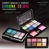 Sivanna Colors Summer Gradually Compact Eyeshasdow 8 C. &Blusher 2 C. ซีเวียน่า ชุดแต่งหน้า อายแชโดว์และบรัชออน ซิเวียน่า (HF-706)