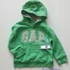 Gap : กันหนาว Gap แบบสวมมีฮูด สีเขียว Size : 2y / 4y