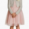 H&M : tulle เดรส สีชมพู Size : 1.5-2y / 12-14y