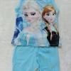 Jumbo Kids : ชุดเซ็ท เสื้อ+กางเกง พิมพ์ลาย Frozen สีฟ้า เนื้อผ้ายืด นิ่ม เด้ง ทรงสวยค่ะ size 1y / 7y