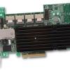 3Ware : 9750-24i4e - 24Port Int, 4Port Ext 6Gb SATA/SAS PCIE 2.0, x8 LP Raid Controller