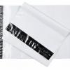 ซองไปรษณีย์พลาสติก สีขาว ขนาด 12 X 15 + 1.57 นิ้ว (30.4 X 39.4 ซม.) ซองละ 2.6 บาท
