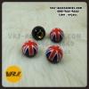 จุกลม ทรงกลม ลายธงชาติอังกฤษ : Car tire valve Stem caps – Union Jack -ENGLAND