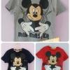 Disney เสื้อยืด ผ้าCotton ลาย มิกกี้เมาส์