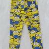 H&M : legging พิมพ์ลายมินเนียน สีเหลือง size : 8-10y (สินค้ามีตำหนิ)