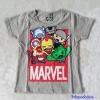 เสื้อ Marvel สีเทา ตัว (Iron man นูนขึ้นมา) size : 90 / 100 / 110