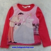 H&M : เสื้อยืดแขนยาว (งานช้อป) ลาย Disney สีชมพู size : 10-12y