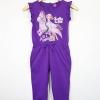 Disney : จั๊มสูทลายเจ้าหญิงโซเฟีย สีม่วง size : 4 (4-6y) / 6 (6-8y)