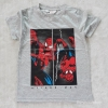 H&M เสื้อยืด spiderman สีเทา size : 8-10y