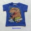 เสื้อยืดรูป dinosaur สีน้ำเงิน Size : 2-4y