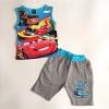 Gap : ชุดเซ็ท เสื้อกล้ามลาย Car พร้อมกางเกงขา 3 ส่วน สีฟ้า size 1y