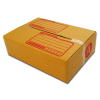 กล่องไปรษณีย์ฝาชนเบอร์ A (ขนาด ก) ขนาด 14 X 20 X 6 cm. ใบละ 2.6 บาท