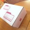 กล่องไปรษณีย์ ไดคัท เบอร์ ง ขนาด 35 X 22 X 14 cm. ใบละ 14.5 บาท