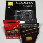 กล้องถ่ายรูป Nikon Coolpix S6400 สีดำ