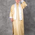 เช่าชุดแฟนซี &#x2724 ชุดแฟนซี ชุดเจ้าพ่อเซี่ยงไฮ้ - ผ้าไหมจีนสีทอง