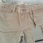Zara girls : กางเกงลูกฟูกผ้านิ่ม (งานช้อป) มีสายปรับด้านใน มี 2 สี สีชมพู น้ำตาล