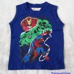 เสื้อกล้าม ลาย Avenger สีน้ำเงิน size 2-4y / 8-10y