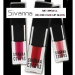 ซีเวียน่า คัลเลอร์ส อาร์ท สเปเซียล ดีลักซ์ แคร์ ลิป กลอส Sivanna Colors Art Special Deluxe Matter Lip Gloss ( ลิปกลอสแมทท์) 3.5 กรัม