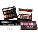 Sivanna Colors 12 color Eyeshadow Palette (HF-616)