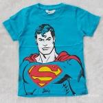 H&M Superman สีฟ้า size : 4-6y / 8-10y