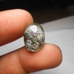 แก้วปวกพระธาตุสีเขียว หายาก ขนาด 1.8*1.3 cm แก้วหายาก สวย สะสมเป็นของมงคล หรือทำแหวน