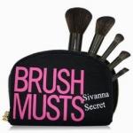 เซ็ตแปรง Brush Musts Sivana Scret 5 ชิ้น