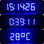นาฬิกาดิจิตอลLED 9นิ้ว 6หลัก