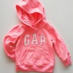 Gap : กันหนาว Gap แบบสวมมีฮูด สีชมพู (girl) Size : 2y / 5y