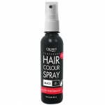 ครูเซ็ท สเปรย์ปิดผมขาว สีดำ Cruset Temporary Hair Color Spray Black 80 ml.
