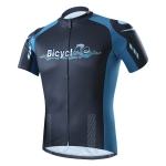 เสื้อจักรยานแขนสั้นทีม Bicycl 2015 สีน้ำเงินเข้ม สั่งจอง (Pre-order)