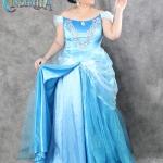 เช่าชุดแฟนซี &#x2665 ชุดแฟนซีไซส์ใหญ่ เอว 36+ 40+ เจ้าหญิงซินเดอเรลล่า Cinderella