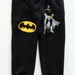 GAP : กางเกงขาจั๊ม สีดำ สกรีนลาย BATMAN Size : 2