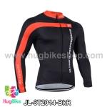 เสื้อจักรยานแขนยาวทีม 3T 14 สีดำแดง สั่งจอง (Pre-order)