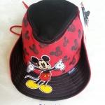 หมวก ทรง คาวบอย ลาย มิกกี้เมาส์ สีแดง