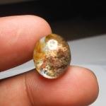 แก้วสามกษัตริย์ ปวกสามสี+กาบเงิน+กาบทอง น้ำงามมาก ขนาด 1.7x1.3 cm ทำแหวนเม็ดโตๆ ทำจี้ สวยๆ