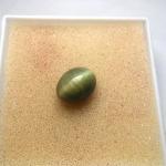 แก้วแร ประกายแร ขนาด 1.3 cm x 0.9 cm ทำหัวแหวน หญิง