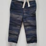 H&M : กางเกงขายาว ขาจั๊ม ลายพรางสีน้ำเงิน