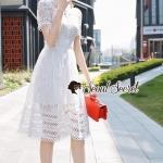 Maxi Lace Dress งานสวยหวานแบบมีระดับ