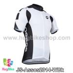 เสื้อจักรยานแขนสั้นทีม Assos 2014 สีขาวดำ สั่งจอง (Pre-order)