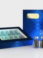 กลุ่มสุขภาพ - วัยทอง MF+ NANO CELL EXTRACTS NANOTECHNOLOGY IN CELL REGENERATION 1200mg. 10 vials x 2.5ml per set
